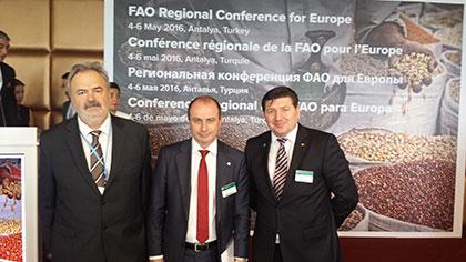 Antalya'daki FAO 30. Avrupa Bölgesel Konferansı